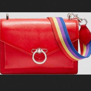 Rebecca minkoff red jean medium crossbody bag